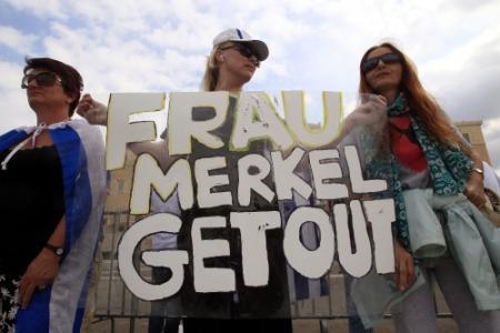 Protesten in Athene worden grimmig