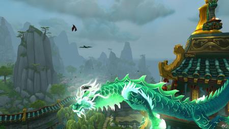 De Jade Draak is één van de vele NPCs die je helpt op je reizen