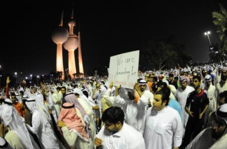 100 gewonden na demonstratie Koeweit
