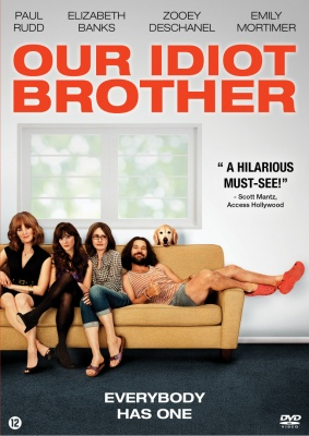 Our idiot brother - dvd-hoes