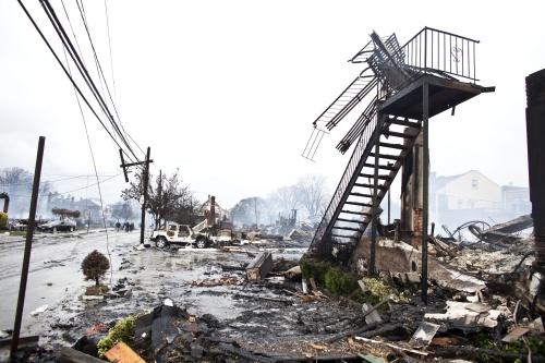 Meer dan 20 doden door Sandy