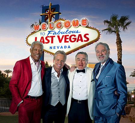 Eerste beeld komedie Last Vegas
