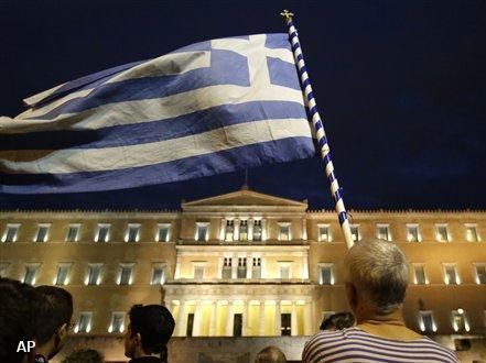 Regeringsgebouw te Athene