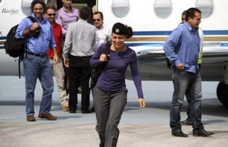 Tanja Nijmeijer spreekt namens FARC op Cuba