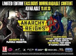 Anarchy Reigns Day One Edition