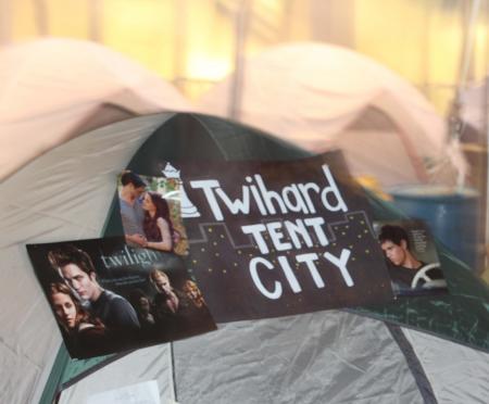 Kamperen voor Twilight