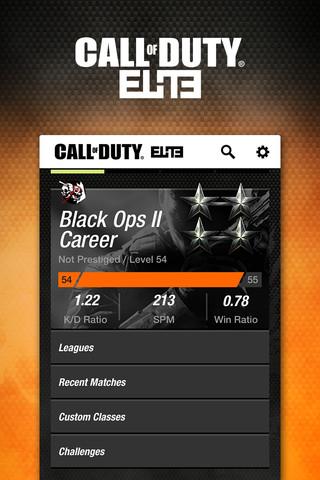 Call of Duty: Elite App