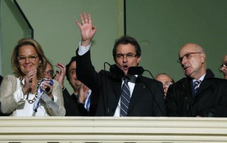 Nederlaag voor regeringspartij Catalonië