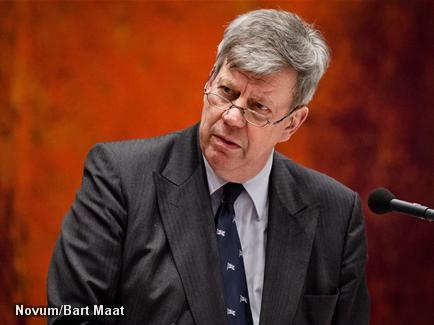 Minister Opstelten (Foto: Novum)