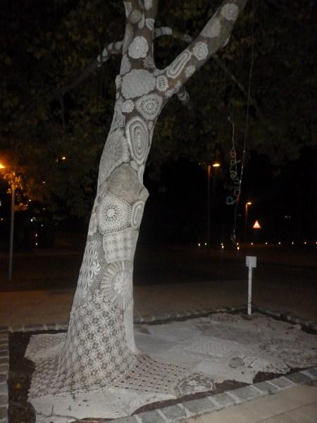 Gehaakte boom