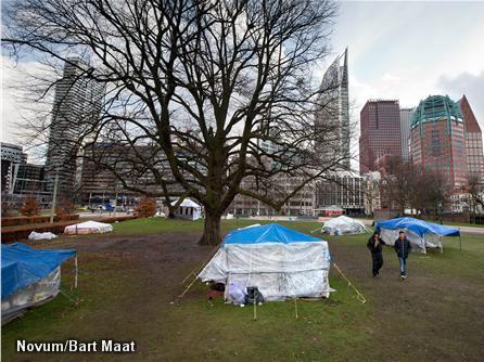 Haags illegalententenkamp