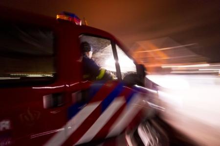 Vijf auto's in brand in garage Maassluis