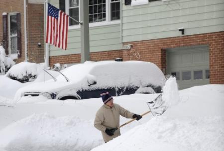 Sneeuwstorm en tornado's in VS