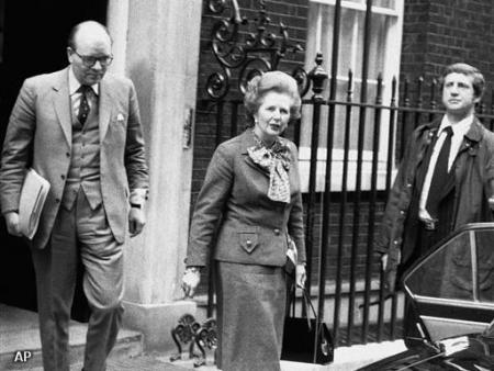 Margaret Thatcher (13 oktober 1925 - 8 april 2013)