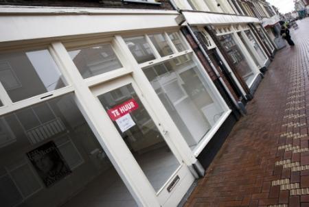 Huurprijzen winkelvastgoed omlaag