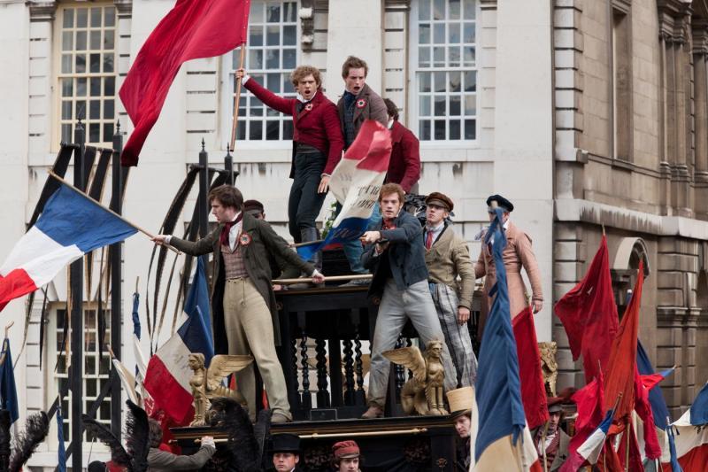 Eddie Redmayne in Les Misérables