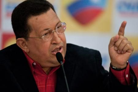 Zieke Chávez mist beëdiging