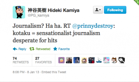 Kamiya tweet