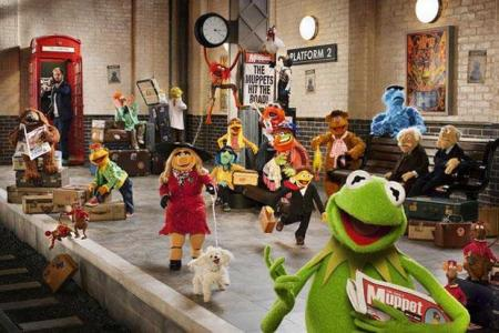 The Muppets...Again: Train Station