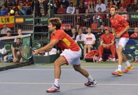 Spaanse team leeft nog in Daviscup