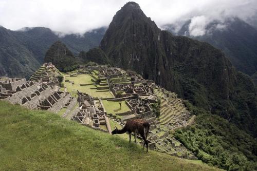 Opgepakt om naaktselfie bij Machu Picchu (Foto: ANP)