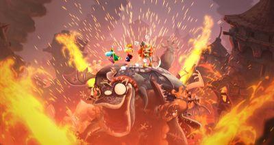 Online testversie Rayman Legends op Wii U (Foto: Novum)