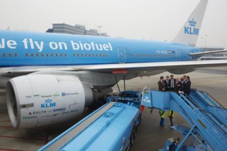 KLM begint'patatvluchten' New York