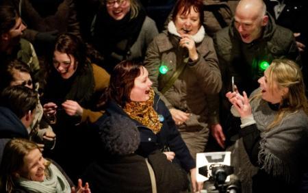 Rotterdammers lachen oud record aan stukken