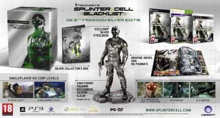 Splinter Cell: Blacklist 5th Freedom Silver Editie