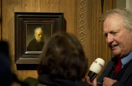 Portret Rembrandt blijkt zelfportret