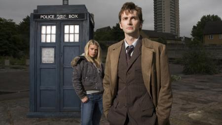 Tenth Doctor, Rose en de TARDIS