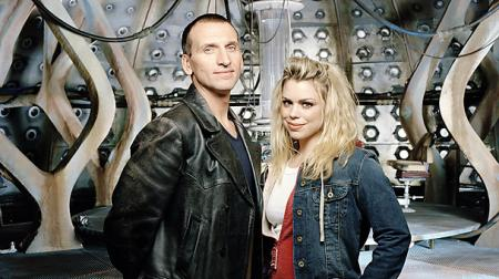 Ninth Doctor met Rose in de TARDIS