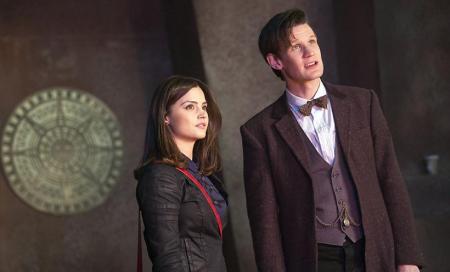 Eleventh Doctor met Clara