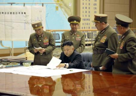 Propaganda Noord-Korea: kernoorlog een feit