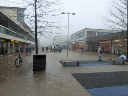 Willow Place shopping centre in Corby