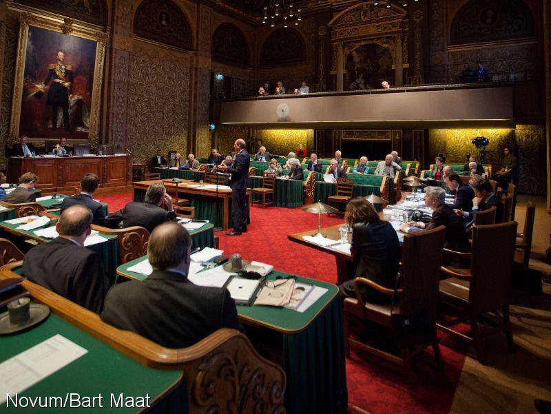 Senaat: benoeming burgemeester uit Grondwet (Foto: Novum)