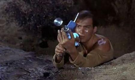 Geveild geweer Captain Kirk