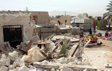 VS bieden Iran hulp aan na aardbeving