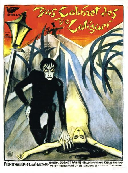 Filmposter The Cabinet of Dr. Caligari