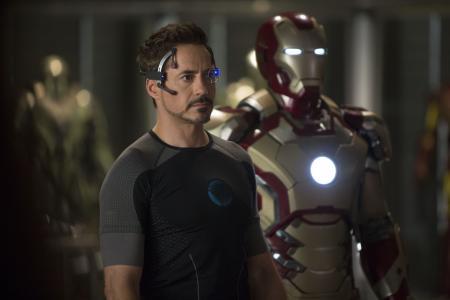 Iron Man 3: Tony Stark en Iron Man armor