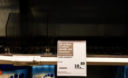 Schaarste melkpoeder vooral probleem Randstad