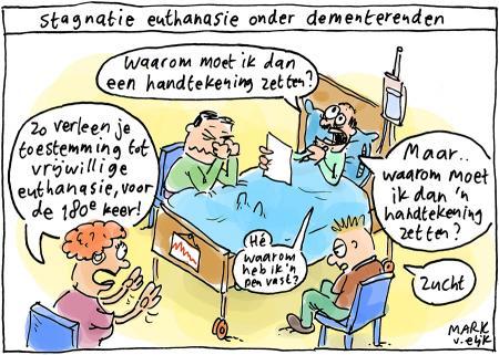 Nieuws cartoon stagnatie euthanasie onder for Groothoeklens sony alpha