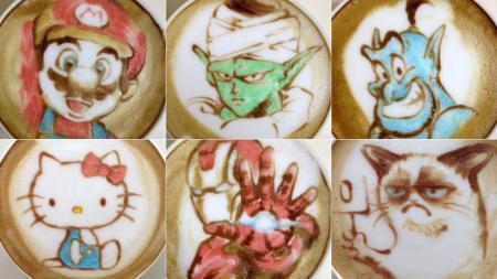Creatieve koffie