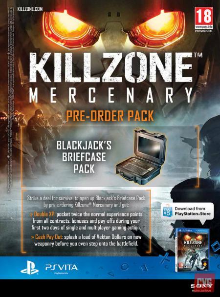 Killzone Mercenary pre-order