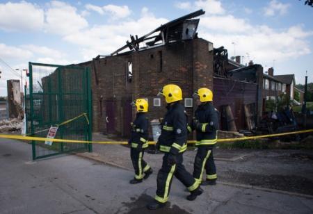 Brand in islamitische kostschool Londen