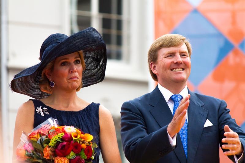 Koning Willem-Alexander en koningin Máxima (Foto: Kevin Lieberwirth)