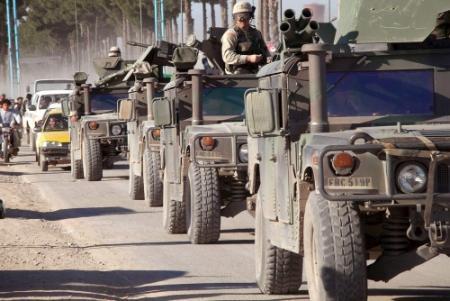 Militaire goederen VS in Afghaanse afvalbak