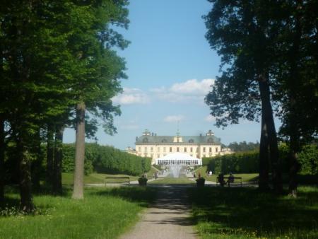 Drottningholm tuin