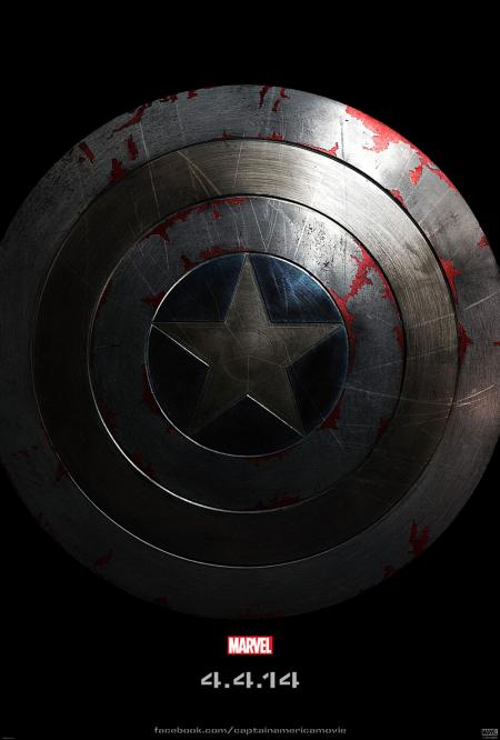 Captain America: The Winter Soldier teaserposter
