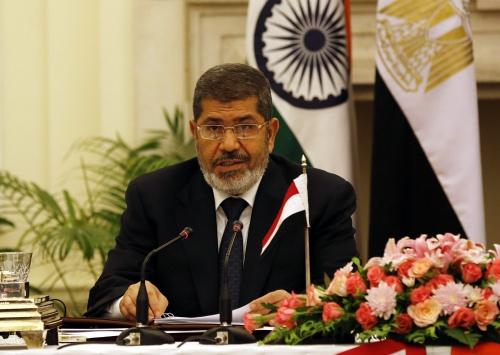VS eisen vrijlating Mursi